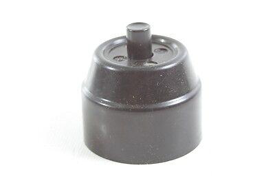 Old Bakelite Switch Light Switch Ap Button Art Deco Loft Presser