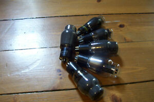 RARE OLD STOCK 6L6 POP BOTTLE STYLE TUBES ALL TESTED READY Stratford Kitchener Area image 3