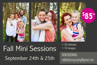 Photography   Fall Family Mini Sessions