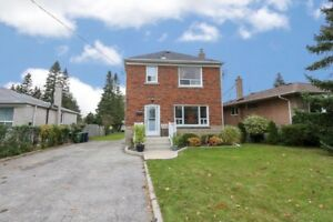 Rarely offered, Premium lot 46x219 w/Detached 2 Storey Home
