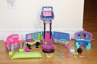 Polly Pocket Transforming Tour Bus/Stage