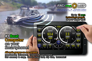 Boat Computer & Flow meter for your outboard motor, ATV !