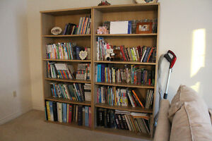 **MOVING SALE** Dependable & STURDY Book Shelves (2) <CHEAP>