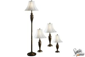 Brand NEW Carson Brass 4 Pack Lamp Set ! Call 306-970-3822!