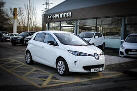 2015 15 RENAULT ZOE Dynamique Intens 5dr Auto in Glacie