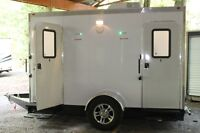 LUXURY PORTABLE RESTROOMS-AIR CONDITIONED