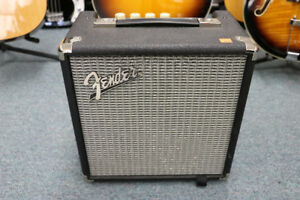 **TURN UP THE VOLUME** Fender Rumble 15 Bass Amp (#13573)