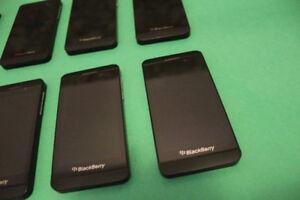 4 - BlackBerry Z10 (Unlocked, 16GB) $50 Each