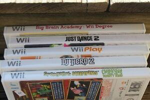 Wii   GAMES    5 IN TOTAL