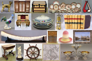 GIANT MULTI-ESTATE AUCTION - Antiques, Collectibles, Jewelry