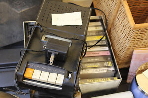 Old Vintage Tape Recorder with some Tapes