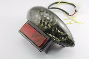 Integrated LED TailLight Turn Signals Hayabusa 99-07 Smoke NEW!