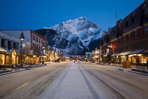 Looking to rent an appartement for 5 person in Banff