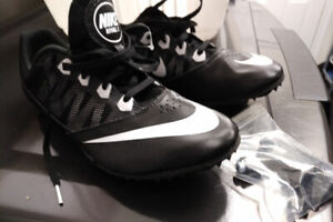 Men's Nike Rival S 7 Track & Field Sprint Spike Shoes Black