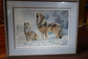 Limited Edition Wolf Print
