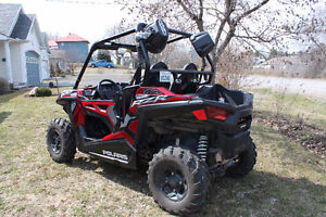 REDUCED!!!2015 POLARIS RZR TRAIL 900 EPS SUNSET RED SIDE BY SIDE