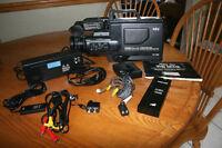 Full Size VHS Camcorder, NEC Model V50U