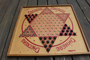 Chinese Checkers & Checkers era 1938