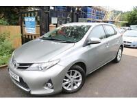 Toyota Auris 1.4 D-4D ICON 5 Door Grey Super Low Mileage Diesel Car Finance Avai