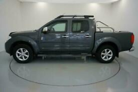 2014 GREY NISSAN NAVARA 2.5 DCI TEKNA 4X4 CREWCAB PICKUP CAR FINANCE FR £225 PCM