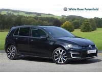 2016 Volkswagen Golf GTE 1.4 TSI 204 PS 6-speed DSG 5 Door PETROL/ELECTRIC black