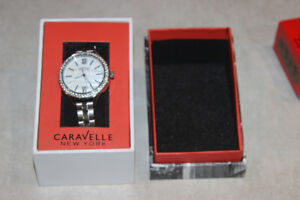 Ladies Caravelle NY Watch NIB