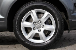 """4x Pneus 18"""" et jantes - Rims and tires"""