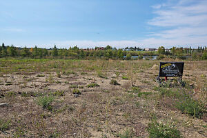 1/3 Acre Walkout Lot Backing onto a Pond in Ardrossan!!