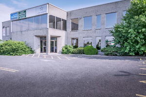 Espaces de bureaux sur le boulevard Périgny à Chambly