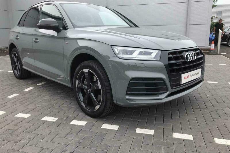 2019 audi q5 black edition 40 tdi quattro 190 ps s tronic diesel grey semi auto