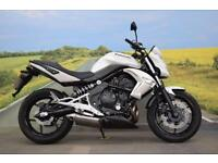 Kawasaki ER6-N **Low Mileage, Digital Display, Factory Standard Condition**