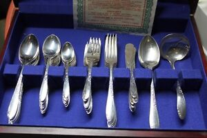 "Wm A Rogers Silver Plate Called ""Country Lane""  Oneida Ltd  1954 Kingston Kingston Area image 3"