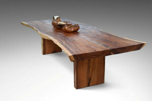10 ft. Live Edge Dining Boardroom Table