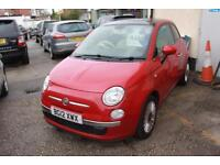 Fiat 500 1.2 Lounge (Start Stop) 3dr GLASS ROOF, BLUETOOTH And USB