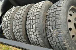HERCULES AVALANCHE SNOW TIRES 175/65R14 AND RIMS