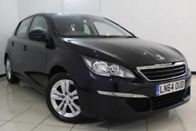 2014 64 PEUGEOT 308 1.6 E-HDI ACTIVE 5DR 114 BHP DIESEL