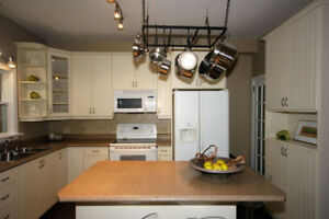 Kitchen Cabinets and Countertops in Good Condition