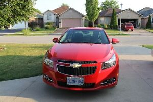 2012 Chevrolet Cruze Victory Red