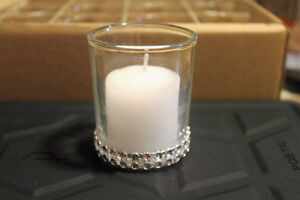 12 VOTIVE with CANDLE - BRAND NEW