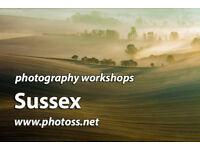 Landscape photography workshops in Sussex