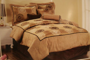 7 pc QN Comforter Set - NEW