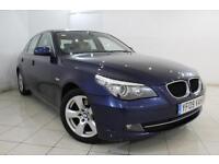 2009 09 BMW 5 SERIES 2.0 520D SE BUSINESS EDITION 4DR 175 BHP DIESEL