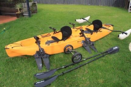 hobie mirage outfitter kayak tandem