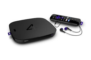 ROKU 4 4400 4k works with android & apple netflix 4k 2016 model