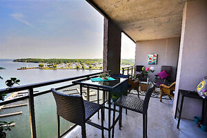 Midland: Georgian Bay Waterfront Condo, Million Dollar View