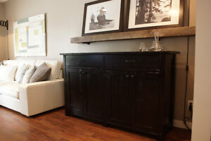 Reclaimed Wood Bar Buffet $2195 and More! By LIKEN Woodworks