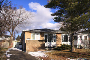 Semi raised bungalow close to Don Mills and Steeles for rent