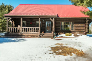 Log Home for Sale in Berwick