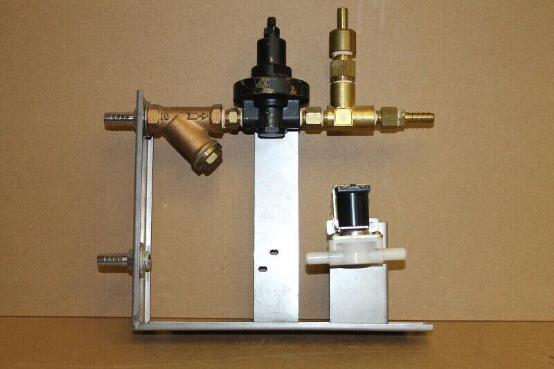 Water pressure regulator assbly, with solenoid valve, Tabai Espec