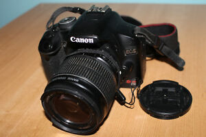 Canon T1i DSLR, with lens cap, charger and battery - NEGOCIABLE Gatineau Ottawa / Gatineau Area image 3